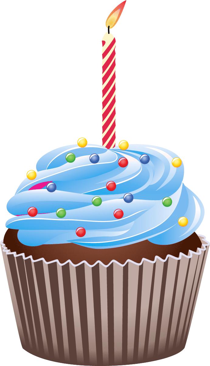 691x1199 Cupcake Clip Art Clip Art, Birthday