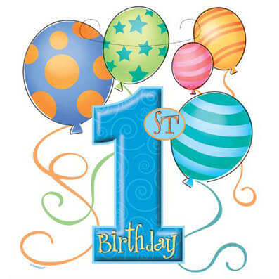 First Birthday Clipart at GetDrawings | Free download