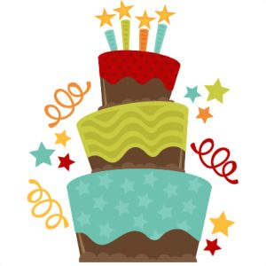 300x300 First 4th Birthday Clipart