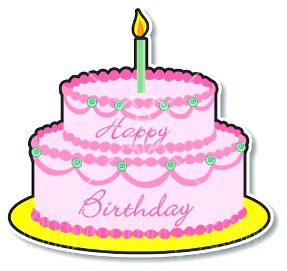 First Birthday Clipart At Getdrawings Free For Personal Use