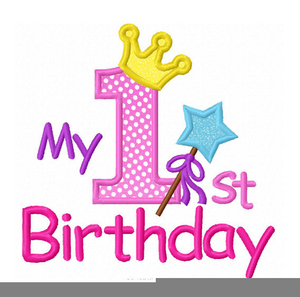 300x297 Minnie Mouse First Birthday Clipart Free Images