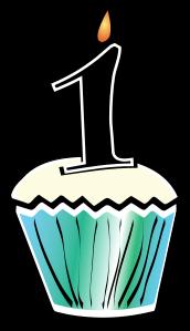 172x299 1st Birthday Cupcake Clip Art Clipart Panda