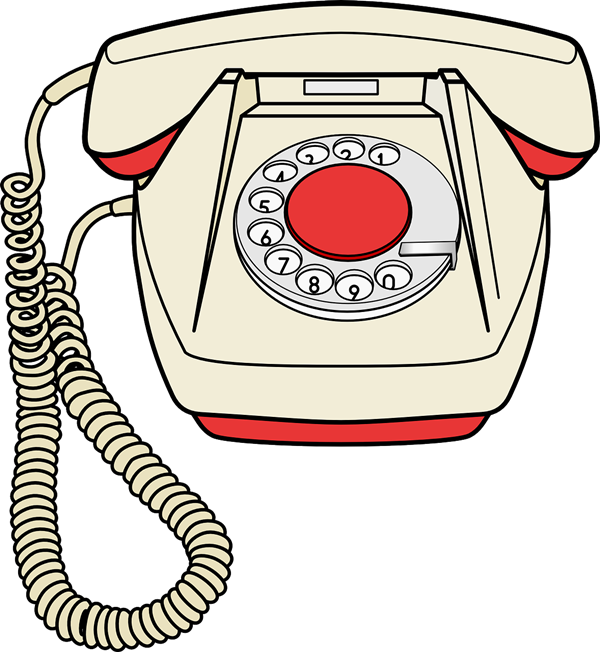 600x652 Phone Clipart First Telephone