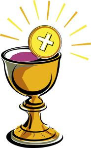 185x300 Clipart Chalice With Host