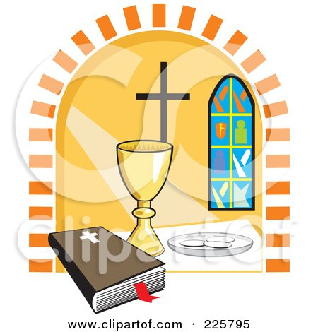 450x470 Clipart Of A Sketchd Kids First Communion