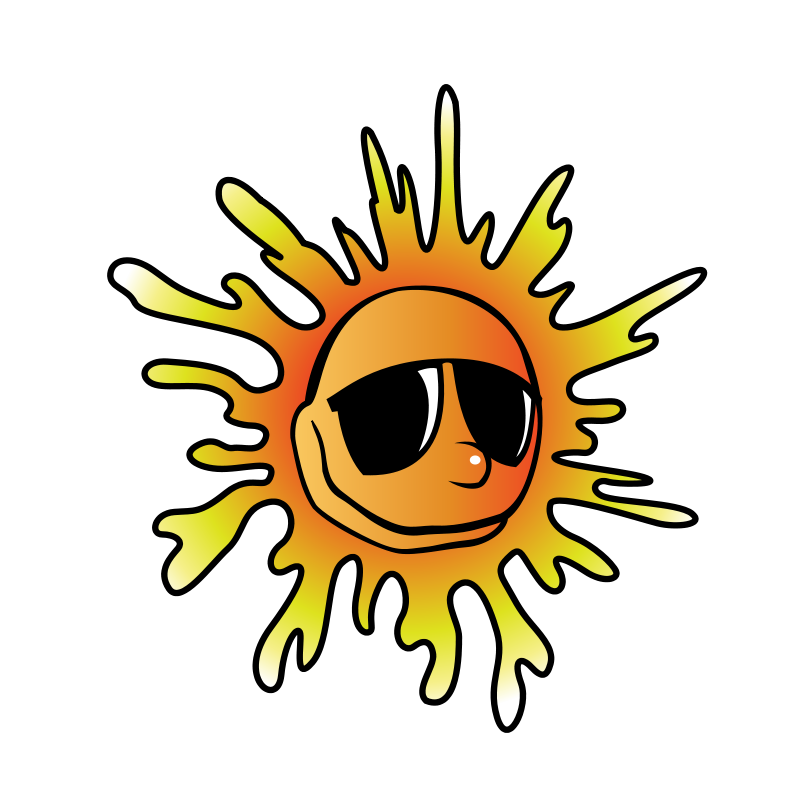 800x800 First Day Of Summer Clip Art Free Clipart Collection