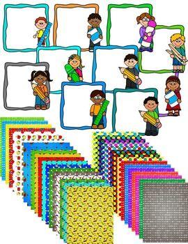 270x350 Free Huge Back To School Clip Art Bundle 1st Day School