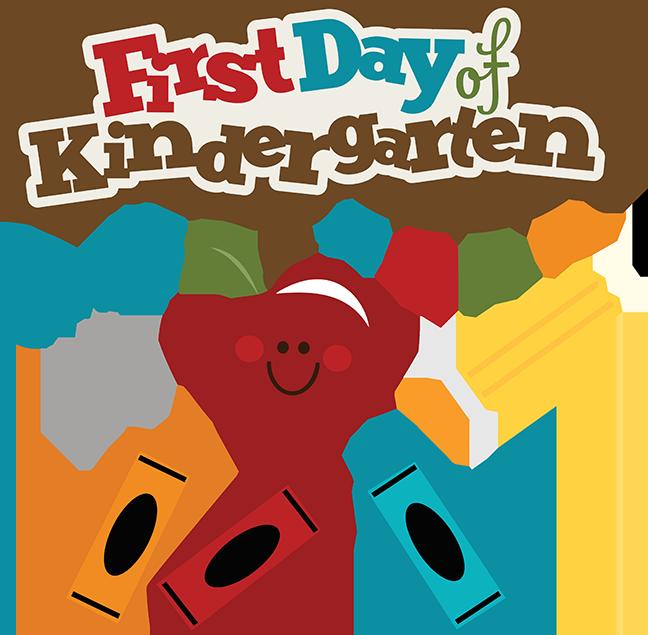648x635 First Day Of Kindergarten Clipart