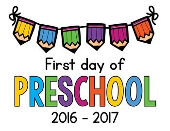 350x270 Photos First Day Of Preschool Clip Art,