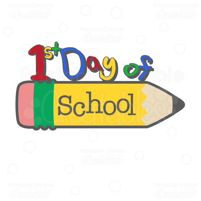 first day of kindergarten clipart at getdrawings com free for rh getdrawings com first day of school 2018 clipart first day of school 2017 clipart