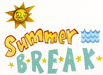 414x301 Summer Clipart Summer Break