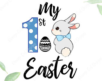 340x270 Easter Bunny Svg Etsy