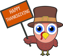 210x187 Happy Thanksgiving Clipart