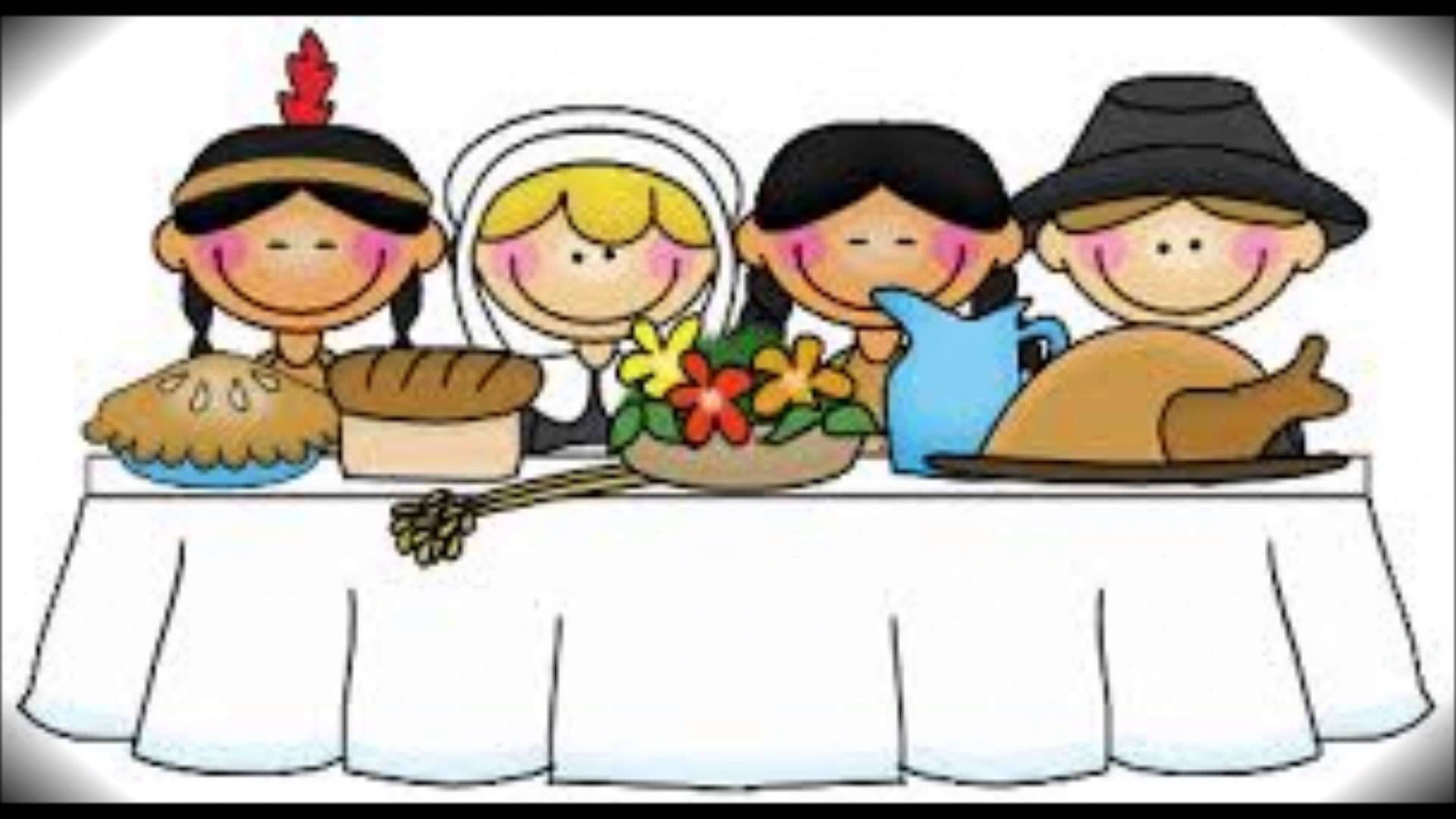 1920x1080 Collection Of First Thanksgiving Table Clipart High Quality
