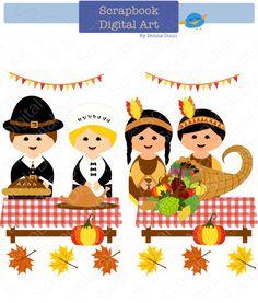 236x277 Thanksgiving Turkeys Digital Clip Art Set. Thanksgiving Gobblers