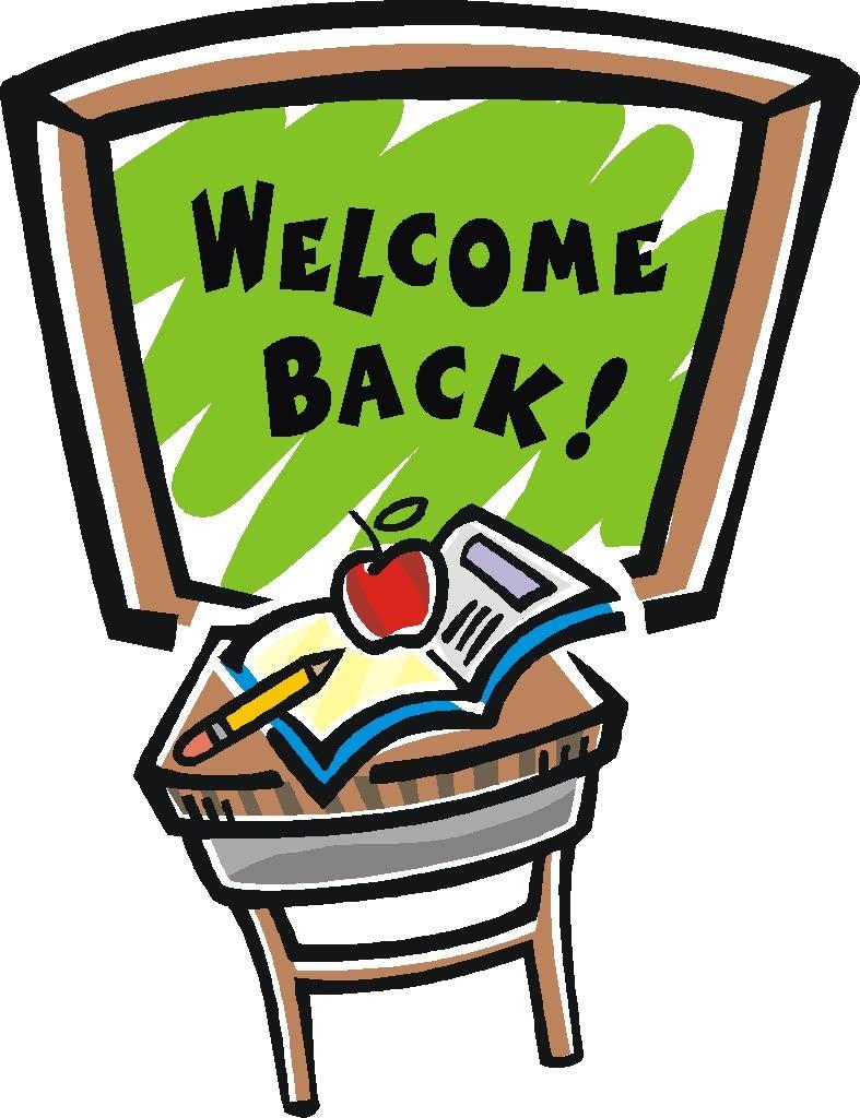 787x1024 Back To School From Winter Break Clipart