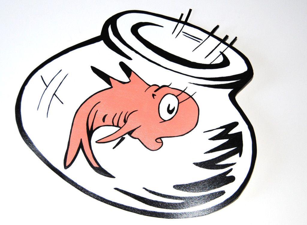 1024x750 Dr Seuss Fish Bowl Dr Seuss Coloring Pages Free Printable Dr Seuss