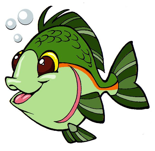Fish Cartoon Clipart