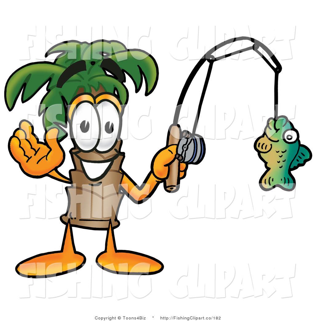 1024x1044 Clip Art Of A Friendly Palm Tree Mascot Cartoon Character Holding