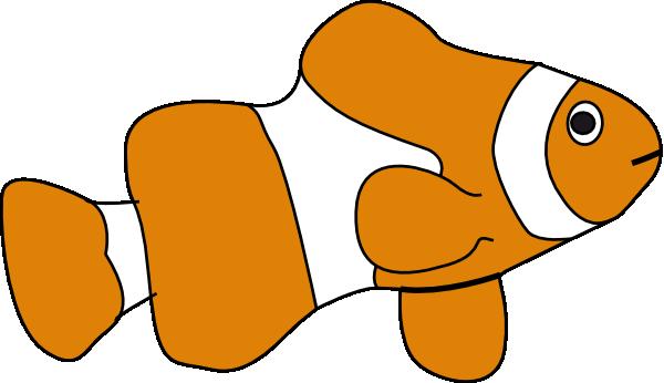 600x346 Clownfish Clown Fish Cartoon Clipart Wikiclipart Jpg