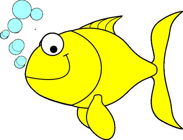 600x460 Fish Clipart Fish Yellow Clip Art