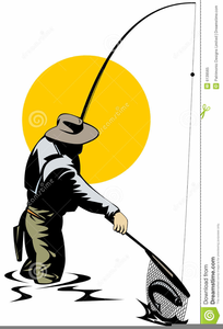 204x300 Fly Fisherman Clipart Free Images