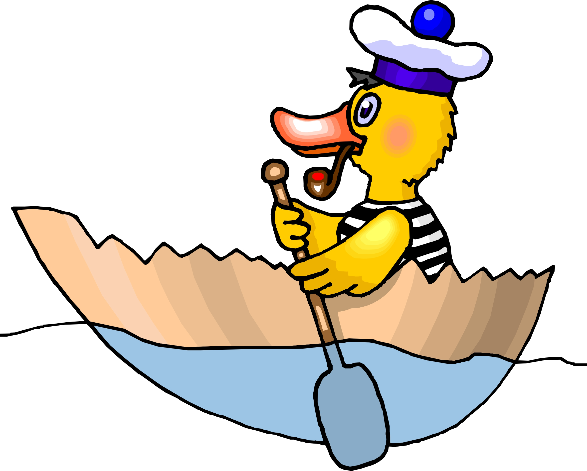 2351x1888 Fishing Boat Cartoon