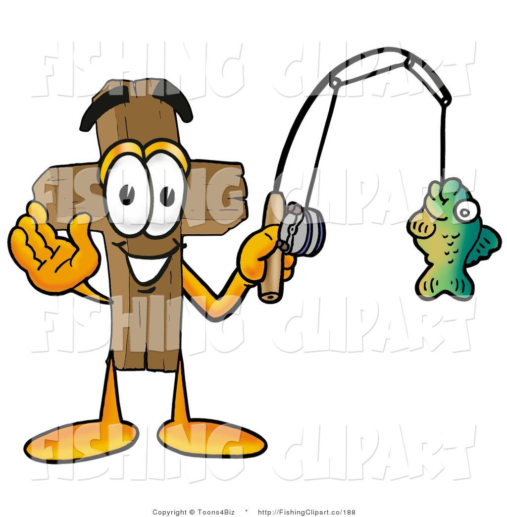 1024x1044 Clip Art Of An Outdoorsy Wooden Cross Mascot Cartoon Character