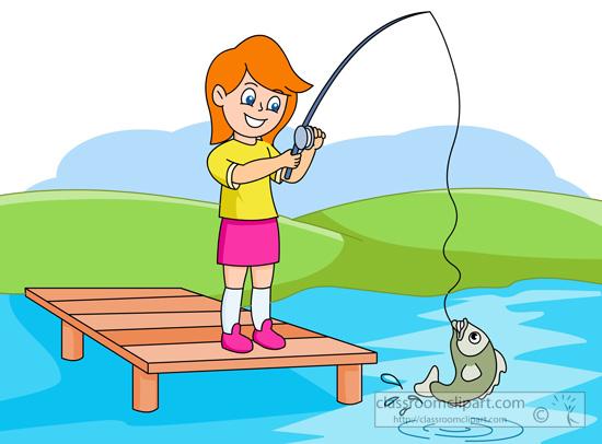 550x406 Fisherman Clipart Kid Fishing