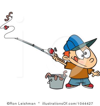 400x420 Kid Fishing Pole Clipart Clipart Panda