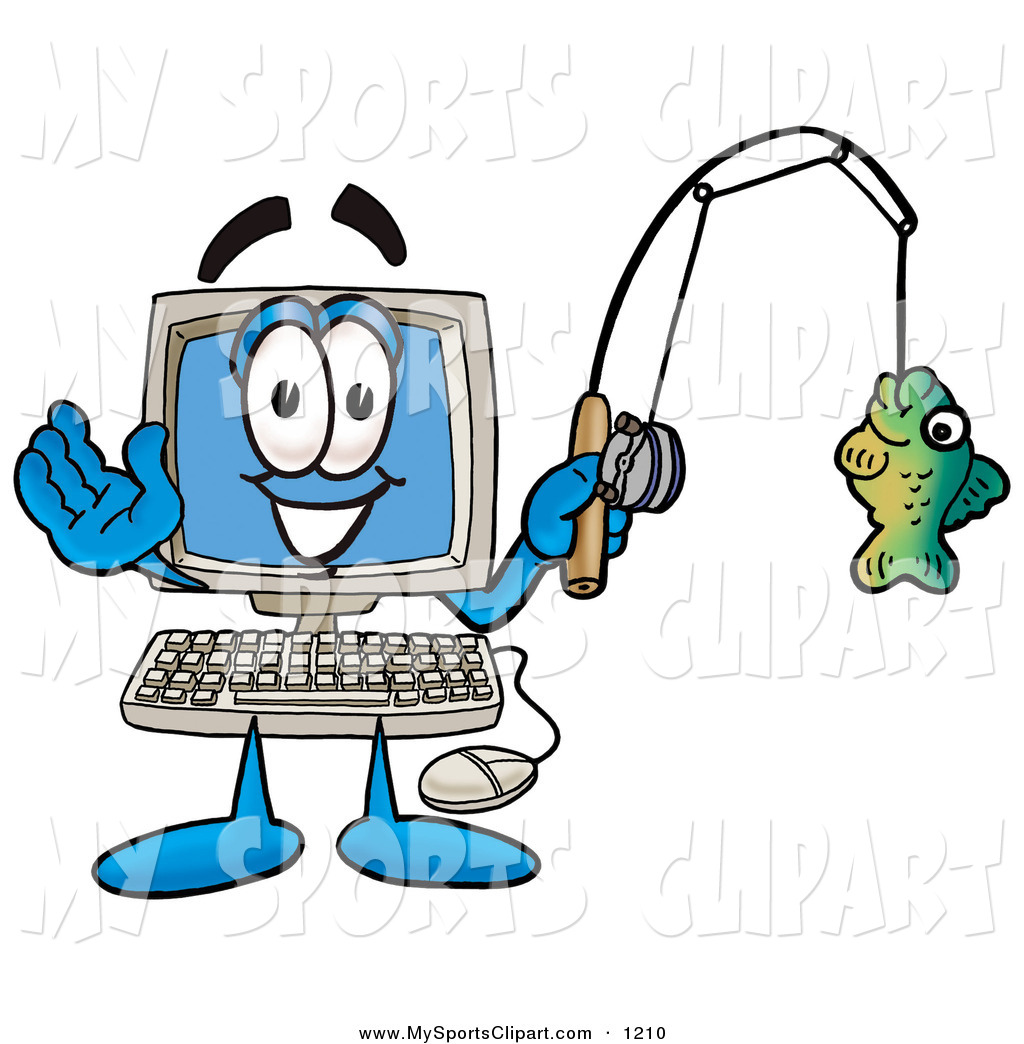 1024x1044 Sports Clip Art Of An Outdoorsy Desktop Computer Mascot Cartoon