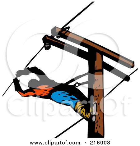 450x470 Clip Art Electric Pole Clipart