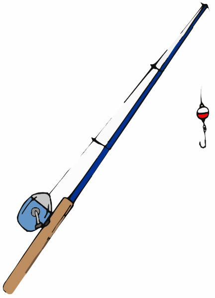 432x598 Fishing Pole Clip Art