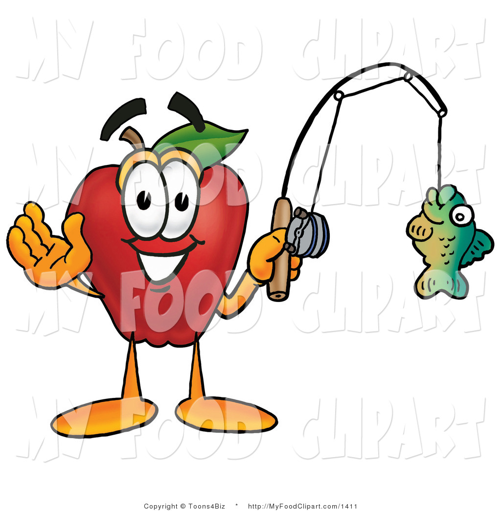 1024x1044 Food Cliprt Of Sporty Redpple Character Mascot Holding