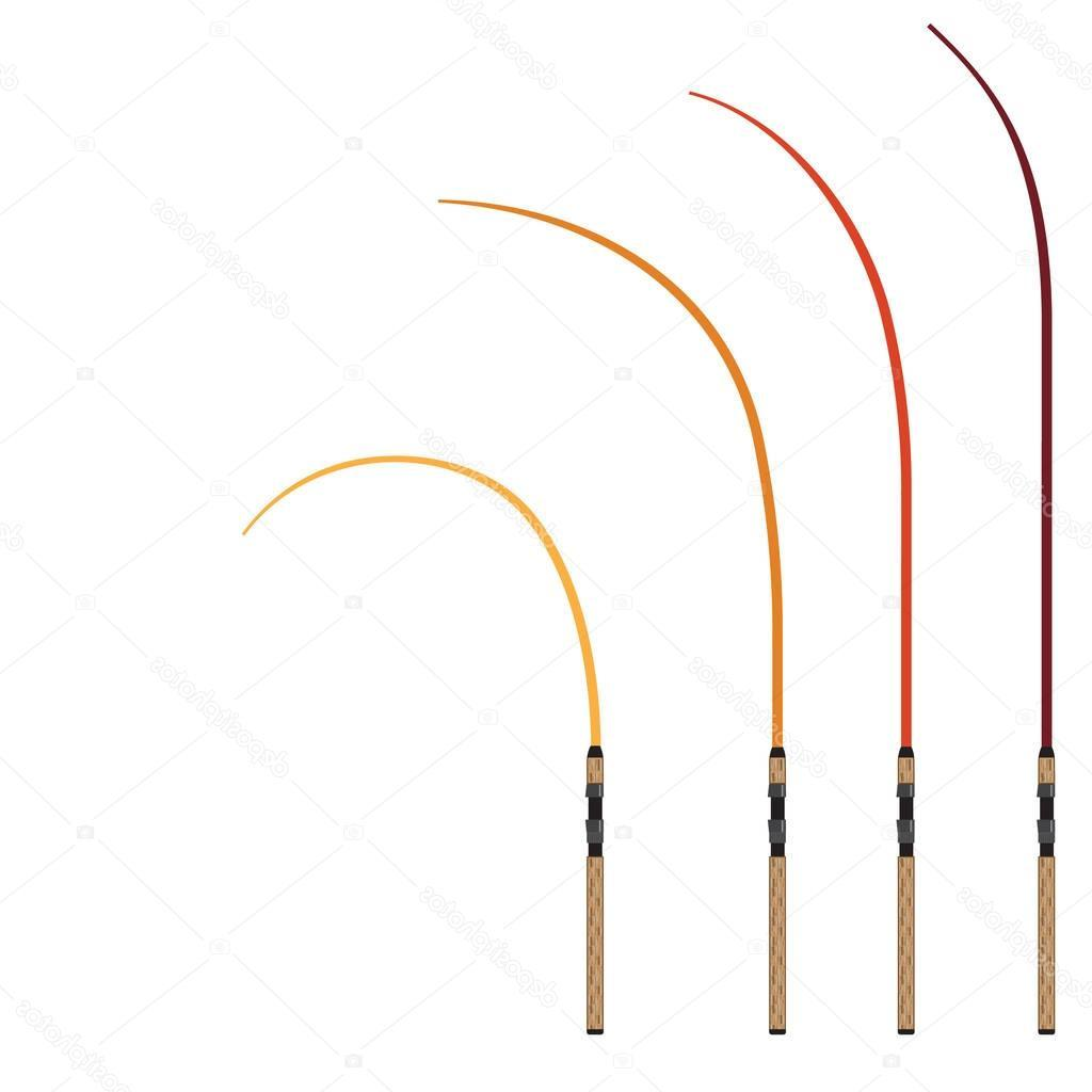 1024x1024 Best Hd Bent Fishing Rod Clip Art Vector Image Clip Art Designs
