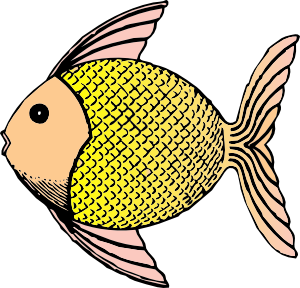 300x288 Neat Design Clip Art Fish Cute Black And White Clipart Panda Free