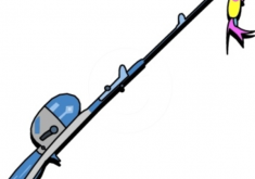 235x165 Strikingly Fishing Rod Clip Art Clipart Pole Panda Free