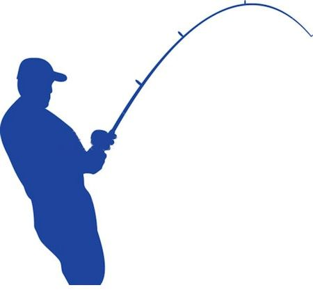 450x430 Luxury Fishing Rod Clip Art