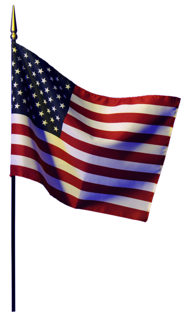 614x1050 American Flag Clipart Simple
