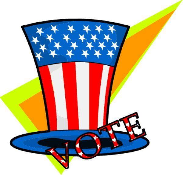 600x573 8 Best Election Clip Art Images On Clip Art
