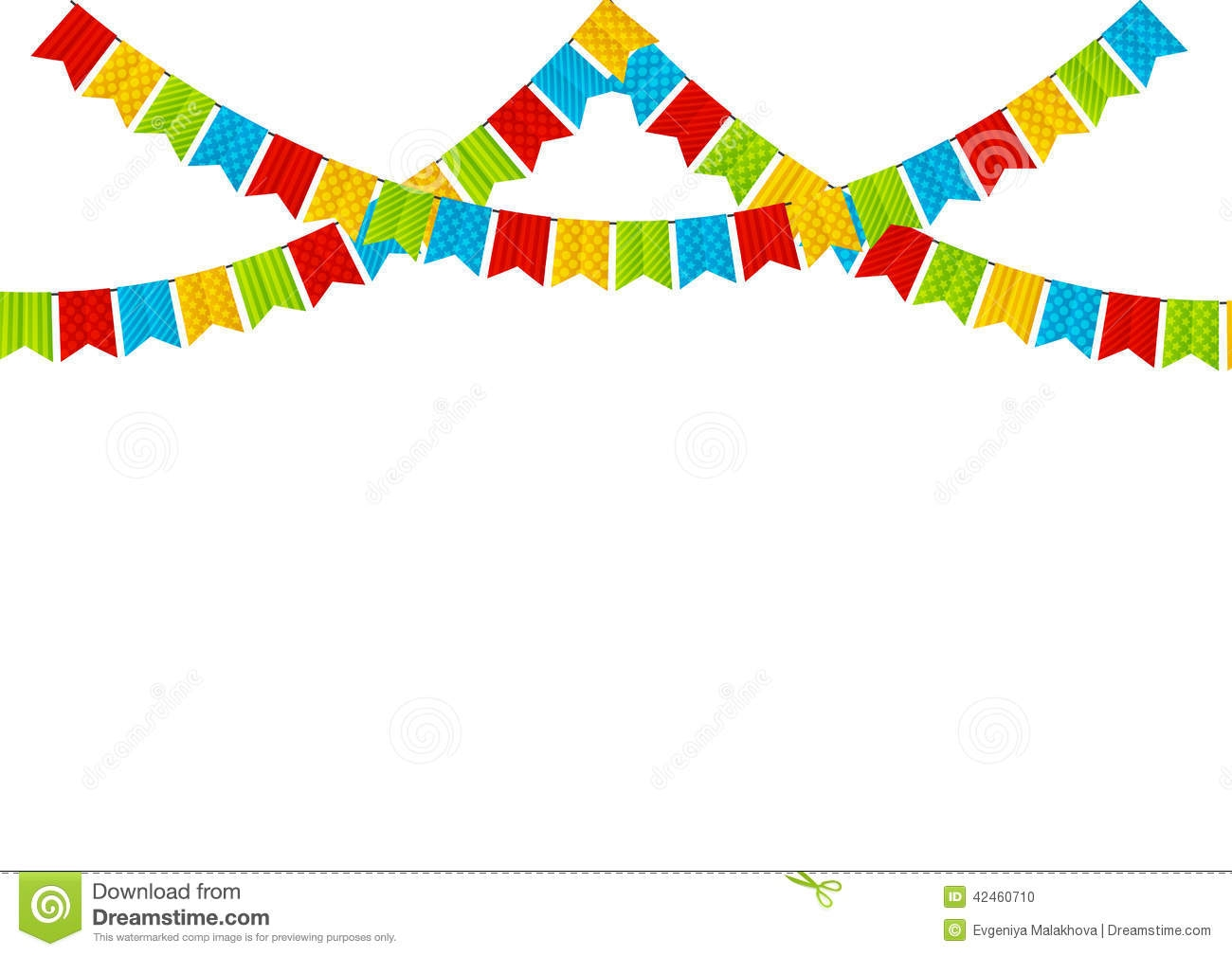 1300x1009 Colorful Flags Clipart