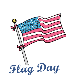 280x300 Flag Day United States June 14