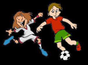 302x224 Football Clip Art Image Black