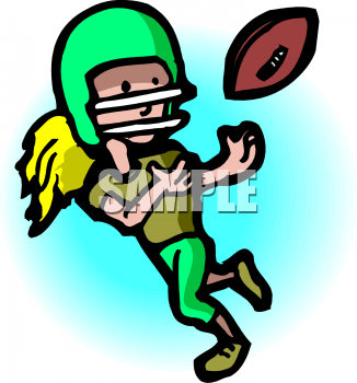 326x350 Collection Of Girls Football Clipart High Quality, Free