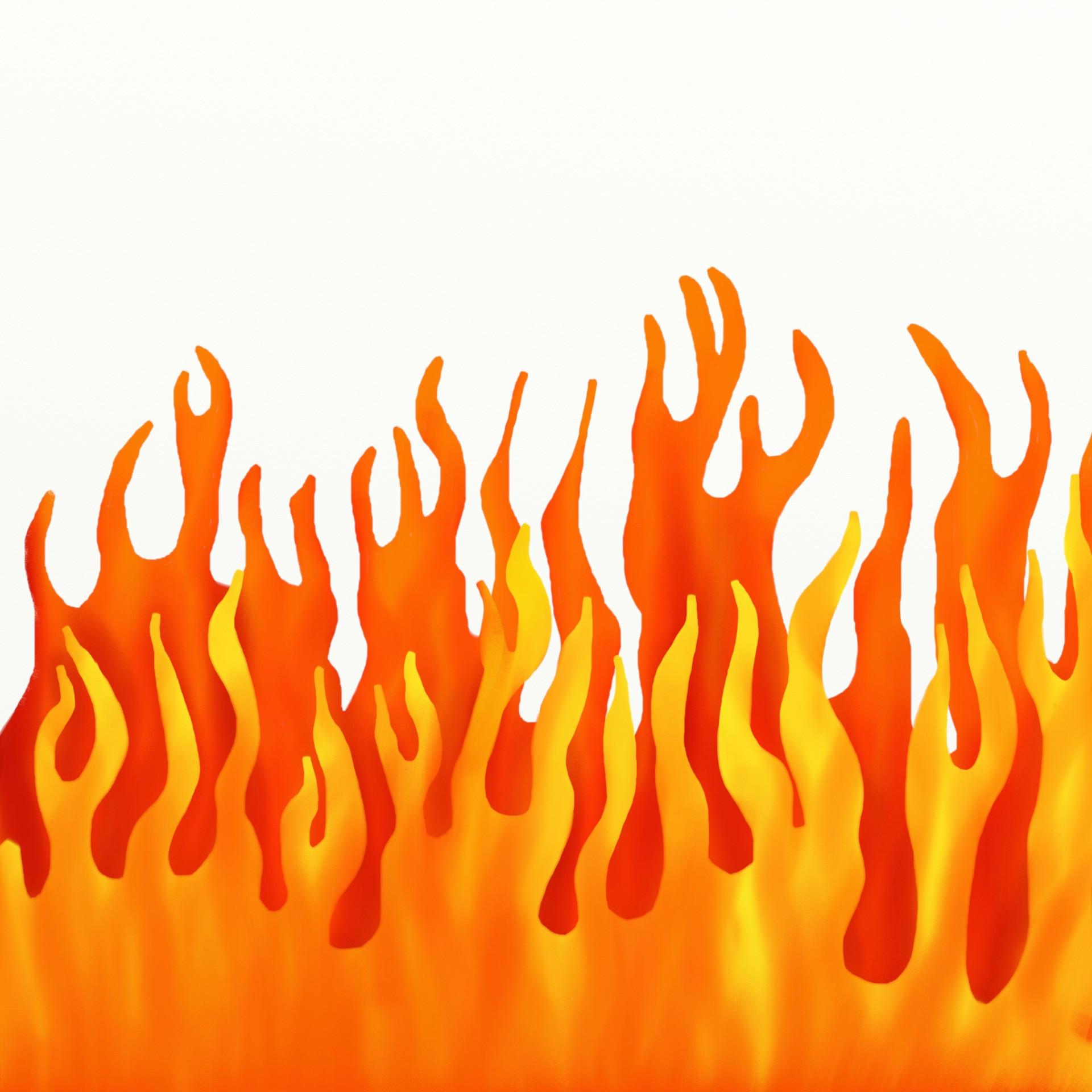 1920x1920 Fire Flame Border Set Royalty Free Vector Clip Art Image 106458