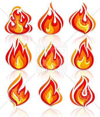 344x400 Fire And Flames Icons