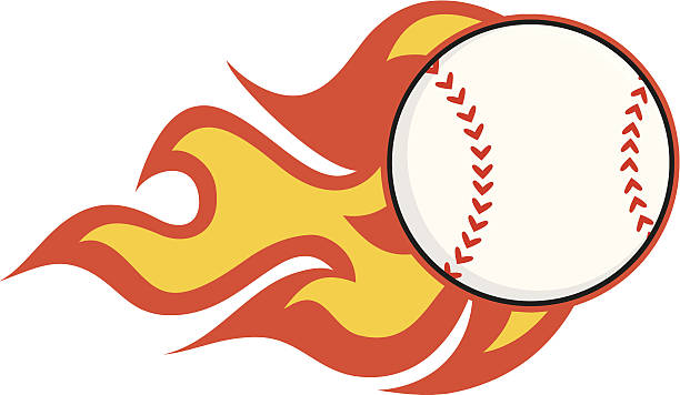 612x356 Baseball With Flames Clipart Flames Clipart