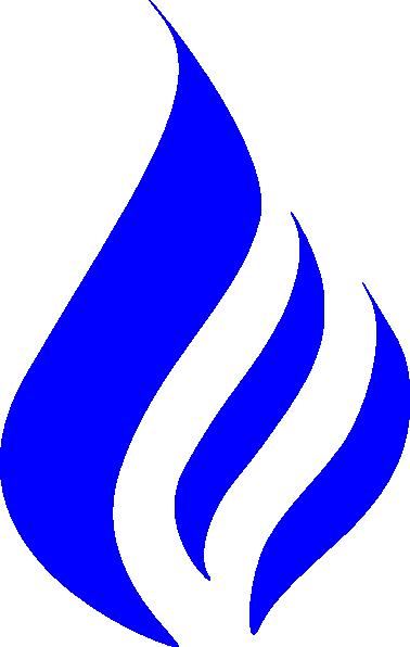378x596 Blue Flames Clipart