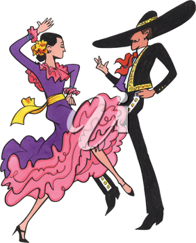 Flamenco Dancer Clipart