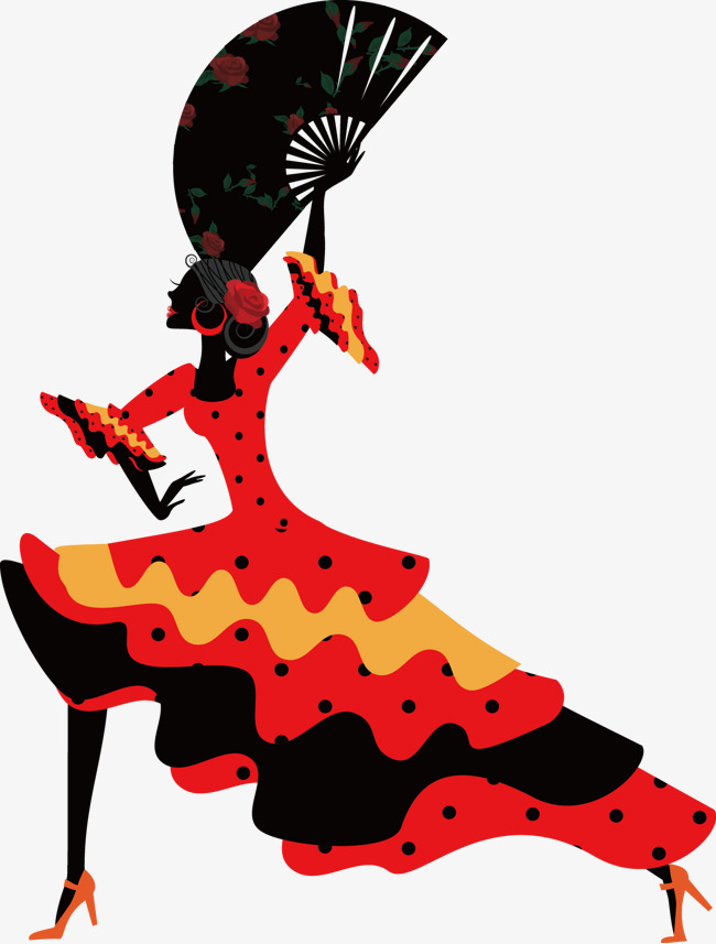 650x857 Flamingo Female Dancers, Dance, Art, Flamingo Png Image